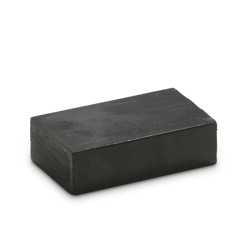 Encaustic Art Wax Block - Black – block